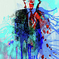 Legendary Mick Jagger Watercolor by Naxart Studio