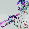 Legendary Miles Davis Watercolor by Naxart Studio