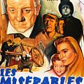 Les Miserables 1958 French Movie Classic by Zal Latzkovich