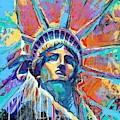 Liberty In Color by Damon Gray