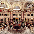 Library Of Congress Main Reading Room by Ruth Moratz