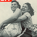 Life Magazine Cover August 1, 1938 by Hansel Mieth