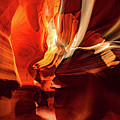 Inner Light - Antelope Canyon - Page Arizona by Gregory Ballos