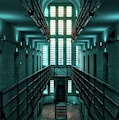 Lincoln Castle Prison In Blue by Scott Lyons