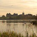 Linlithgow Palace At Dusk by Victor Lord Denovan