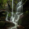 Linville Gorge - Waterfall by Mike Koenig