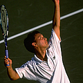 Lipton Champs Michael Chang by Al Bello