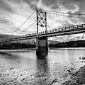 Little Golden Gate Bridge Of Arkansas - Monochrome Edition by Gregory Ballos
