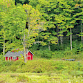 Little Red House by Charles Eberson
