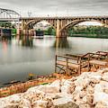 Little Rock Arkansas Along The River by Gregory Ballos