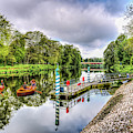 Little Rowers At Bute Park by Steve Purnell