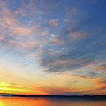 Little Traverse Bay Sunset by Rein Nomm