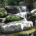 Little Waterfall. by Trudee Hunter