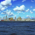 Liverpool Skyline by Anthony Dezenzio