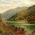 Llyn Mymbyr, Capel Curig, 1882 by Alfred Augustus Glendening