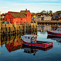 Lobster Traps, Lobster Boats, And Motif #1 by Jeff Sinon