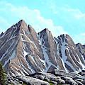 Lofty Peaks by Frank Wilson