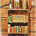 Log Cabin Book Case Sketched by Kirt Tisdale