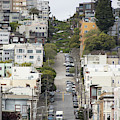 Lombard Street San Francisco Crookedest Street In America R164 by Wingsdomain Art and Photography