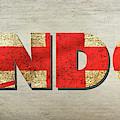 London Banner 3 by Edward Fielding