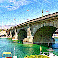 London Bridge In Arizona by Tatiana Travelways