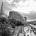 London City Hall And Skyline  by John McGraw