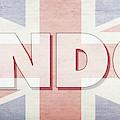 London Faded Flag Design by Edward Fielding