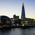 London South Bank 1 by Marcin Rogozinski