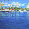 Long Beach Shoreline by Amelie Simmons