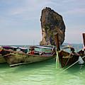 Long-tail Boats, Poda Island by Aivar Mikko