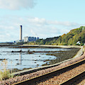 Longgannet Power Station And Railway by Victor Lord Denovan