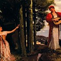 Look Any Laughs To The Plains by Bocklin Arnold