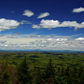 Looking From The Lookout On The Vermont Appalachian Trail Towards Nh by Raymond Salani III