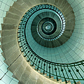 Looking Up The Spiral Staircase Of The by Ian Cumming