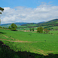 looking westwards in Tweed valley by Victor Lord Denovan