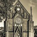 Loretto Chapel Of Santa Fe New Mexico - Sepia Edition by Gregory Ballos