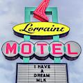Lorraine Motel Sign by Susan Rissi Tregoning