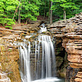 Lost Canyon Waterfall - Missouri Ozark Mountains by Gregory Ballos