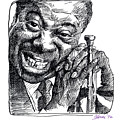 Louis Armstrong by David Lloyd Glover