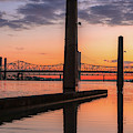 Louisville Sunrise On The Ohio River by Dan Sproul
