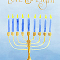 Love And Light For Hanukkah by Anita Pollak