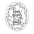 Love Never Fails' by Judy Hall-Folde