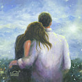 Lovers Looking Forward Brunettes by Vickie Wade