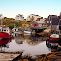 Low Tide At Peggy's Cove by Max Huber