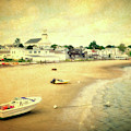 Low Tide Provincetown Cape Cod Massachusetts Shoreline Textured by Thomas Woolworth
