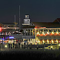 Lowcountry Nightlife On Shem Creek by Dale Powell