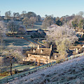 Lower Dean In The Winter Frost by Tim Gainey