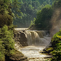 Lower Falls Letchworth State Park by Jim Lepard