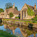 Lower Slaughter And The River Eye by David Ross