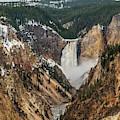 Lower Yellowstone Falls by Matthew Irvin